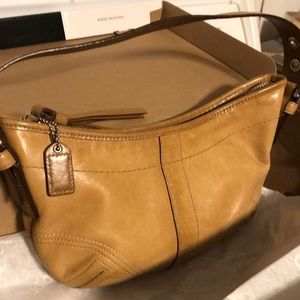 Vintage Hobo small leather Coach bag